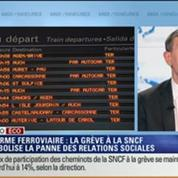 L'Édito éco de Nicolas Doze: Réforme ferroviaire: La grève à la SNCF symbolise la panne des relations sociales –