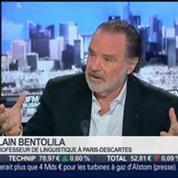 Alain Bentolila, linguiste, dans l'invité de BFM Business –