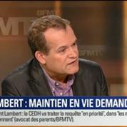 Le Soir BFM: La CEDH demande le maintien en vie de Vincent Lambert 2/5