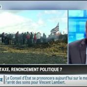 Le parti pris d'Hervé Gattegno : Ecotaxe : Le gouvernement roule à contre-sens –