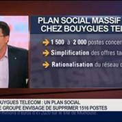 Olivier Roussat, président directeur général de Bouygues Telecom, dans Le Grand Journal 2/4