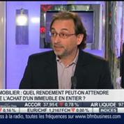 Acheter un immeuble en entier: quel intérêt?: Jean-Marc Le Prado, dans Intégrale Placements –