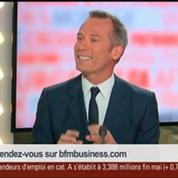 Thierry Jadot, président de Dentsu Aegis Media France, dans Le Grand Journal 1/4