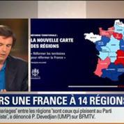 Le Soir BFM: Réforme territoriale: vers une France à 14 régions ? 1/3