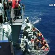 5000 réfugiés secourus et 30 cadavres découverts au large de l'Italie