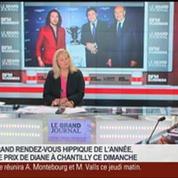 Bertrand Bélinguier, président de France Galop, dans Le Grand Journal 5/5
