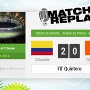 Colombie - Côte d'Ivoire : Le Match Replay avec Le son RMC Sport !