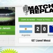 Argentine - Bosnie : Le Match Replay avec le son RMC Sport !