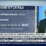 ATEME: Lancement de son introduction en bourse: Michel Artières, dans Intégrale Bourse –