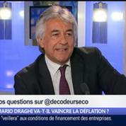 Mario Draghi va-t-il vaincre la déflation ?, dans Les Décodeurs de l'éco 4/5