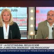 Luc Bérille, secrétaire général de l'UNSA, dans Le Grand Journal – 4/4