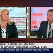 Philippe Vannier, président directeur général de Bull, dans Le Grand Journal 1/4