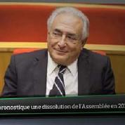 Top Média : DSK pronostique une dissolution de l'Assemblée en 2015