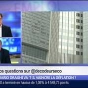 Mario Draghi va-t-il vaincre la déflation ?, dans Les Décodeurs de l'éco 1/5