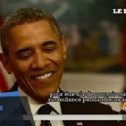 Obama se confie sur son rôle de père à la fille de George W. Bush