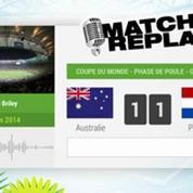 Australie - Pays Bas : Le Match Replay avec le son RMC Sport !