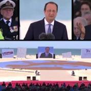 Hollande veut inscrire les plages du Débarquement au patrimoine mondial de l'UNESCO