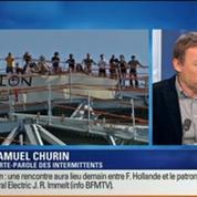 BFM Story: Les intermittents dans l'attente des propositions de Manuel Valls pour sauver les festivals d'été