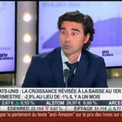 Les marchés aux Etats-Unis résistent malgré la recession de la croissance économique: Jean Borjeix VS Thierry Sarles, dans Intégrale Placements – 1/2