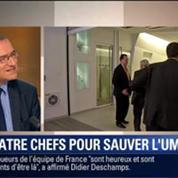 Le Soir BFM: Le quatuor Chatel-Fillon-Juppé-Raffarin aux commandes de l'UMP 2/5