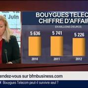 Olivier Roussat, président directeur général de Bouygues Telecom, dans Le Grand Journal 1/4