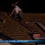 Grêle et orages provoquent des dégâts matériels en Ile-de-France