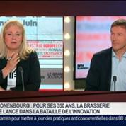 Marc Vermeulen, président directeur général des Brasseries Kronenbourg, dans Le Grand Journal 3/4