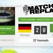 Allemagne - Portugal : Le Match Replay avec le son RMC Sport !