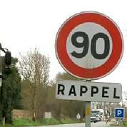 Les routes de France vers un abaissement de 90 à 80 km/h ?