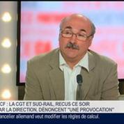 Luc Bérille, secrétaire général de l'UNSA, dans Le Grand Journal – 3/4