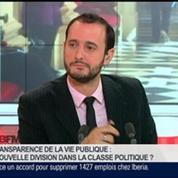 Éric Fottorino et Emmanuel Lechypre, dans Le Grand Journal 6/7