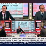 Yves Zlotowski et Benaouda Abdeddaïm, dans Le Grand Journal 4/7