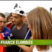 France-Allemagne : «On est dégoûtés», réagissent les supporters