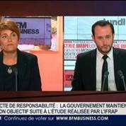 Sophie Fay, Bruno Jeanbart et Emmanuel Lechypre, dans Le Grand Journal 7/7