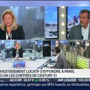 Laurent Vimont, Century 21, dans l'invité de BFM Business –