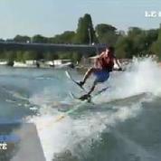 On a testé : le ski nautique... sur la Seine !