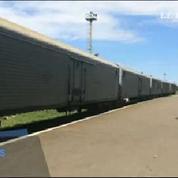 Vol MH17 : 169 corps placés en train réfrigéré