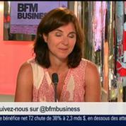 Béatrice Mathieu et Emmanuel Lechypre, dans Le Grand Journal 7/7