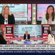 Karine Berger, députée PS des Hautes-Alpes, dans Le Grand Journal 2/4