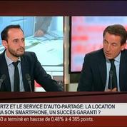 Fabrice Quinquenel, président de Hertz France, dans Le Grand Journal 5/7
