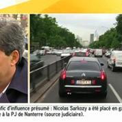 Sarkozy en garde à vue :