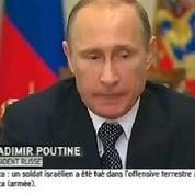 Crash de l'avion malaisien : Poutine souligne la responsabilité de l'Ukraine