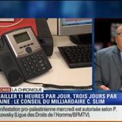 L'Éco du soir: Rythme de travail: 3 jours par semaine suffisent, Carlos Slim