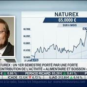 Naturex: chiffre d'affaires en repli au premier semestre: Thierry Lambert, dans Intégrale Bourse –