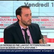 Christophe Clouzeau, cofondateur de Petits Patrons, dans Le Grand Journal – 5/7