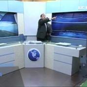 Jordanie : grosse bagarre sur un plateau télé, le présentateur doit s'interposer