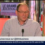 Hervé Nathan et Emmanuel Lechypre, dans Le Grand Journal – 6/7