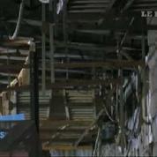 New York : une partie de la façade du Brooklyn bridge s'effondre