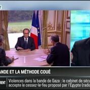 Le parti pris de David Revault d'Allonnes: François Hollande n'a plus que la méthode Coué