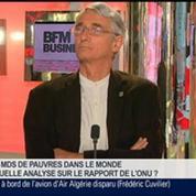 Xavier Godinot et Benaouda Abdeddaïm, dans Le Grand Journal 4/7